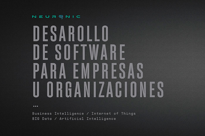 Neuronic desarrollo de software